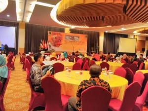 Pembukaan Acara Seminar Internasional LSCAC di Hotel Atria Malang