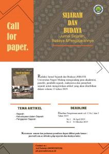 Call Paper JSB UM